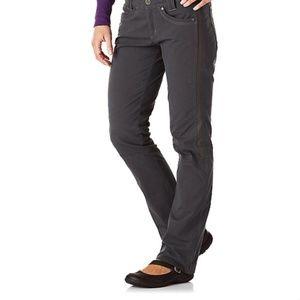 Kuhl Radikl Hiking Pants Sz 6 Reg Gray